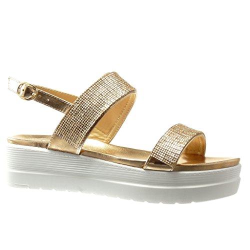 DYF Chaussures Sandales Talon Haut Table