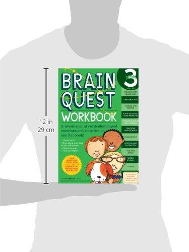 Workbook 3 grade worksheets : Brain Quest Workbook: Grade 3: Janet A. Meyer: 0019628149169 ...