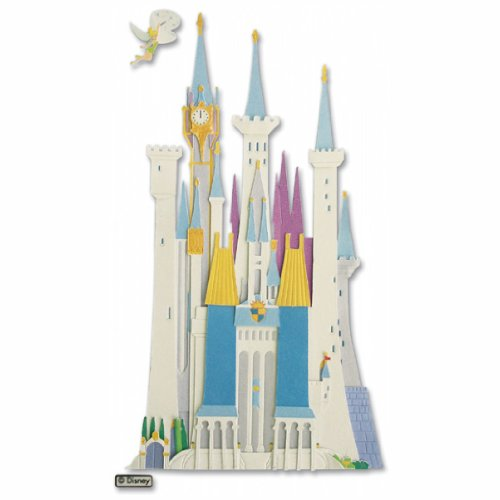 Disney Vacation Dimensional Stickers-Disney (Disney Castle Dimensional Stickers)