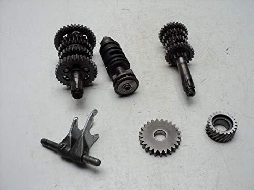 Transmission Gears Shift Forks - Yamaha DT125 DT 125 Enduro #5082 Transmission & Misc. Gears/Shift Drum & Forks