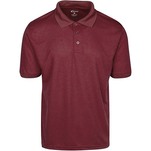 Mens burgundy drifit polo shirt xl sales up Burgundy polo shirt boys