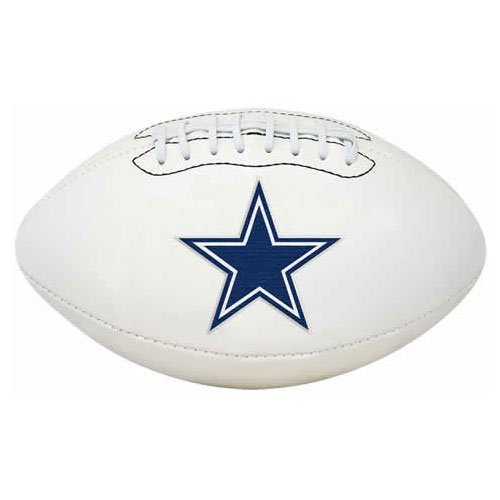 Cowboy Panels - Rawlings NFL Signature Series Full Regulation-Size Football