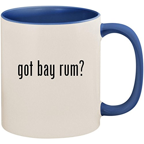 got bay rum? - 11oz Ceramic Colored Inside and Handle Coffee Mug Cup, Cambridge ()