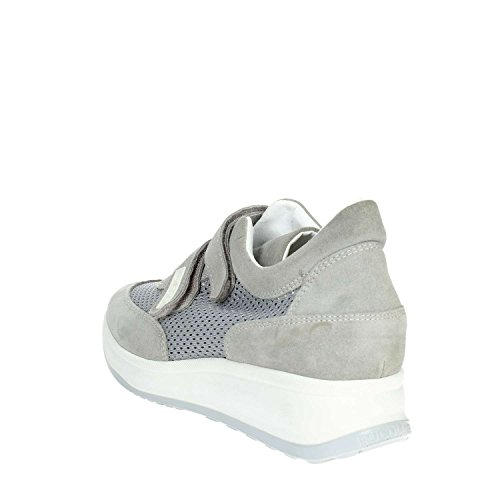 Agile Rucoline a30 Gris Sneakers Femme By Petite 1313 r665qOxt