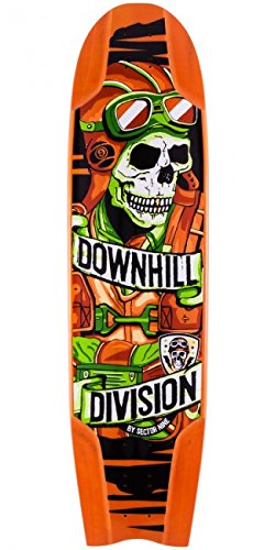 Sector 9 Bomber Downhill Division Longboard Skateboard Deck With Grip (Bomber Deck)