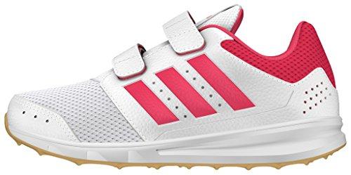 adidas LK Sport 2 CF K, Zapatillas de Deporte Para Niños Blanco (Ftwbla / Rosbah / Gum3)