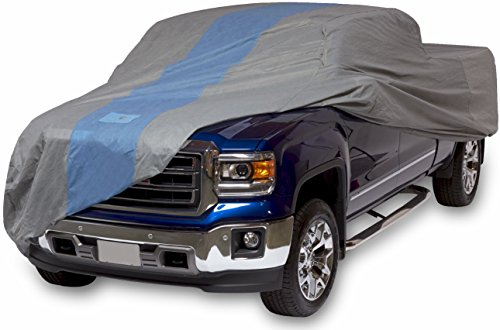 Duck Covers Defender Pickup Truck Cover, Fits Extended Cab Short Bed Trucks up to 19 ft. 4 in.