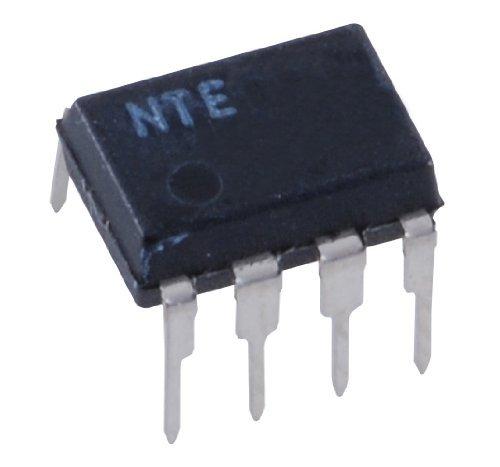 NTE Electronics NTE7051 Integrated Circuit 1W BTL Mono Audio Amplifier, 6V, 8-Lead DIP Package