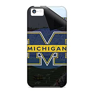 CaroleSignorile Snap On Hard Cases Covers Michigan Wolverines Protector For Iphone 5c