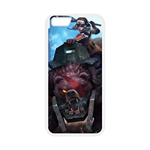 iPhone 6 4.7 Inch Cell Phone Case White League of Legends Bear Cavalry Sejuani KWI8898331KSL