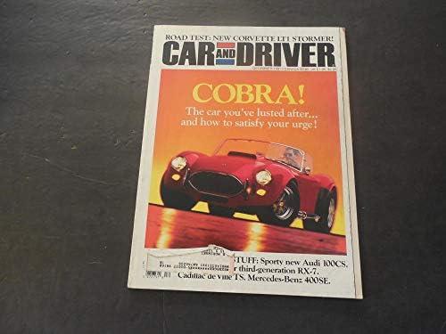 Car And Driver Dec 1991 Cobra