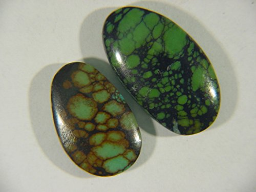 Genuine Natural Chinese Turquoise Lapidary Freeform Cabochon 9496C h