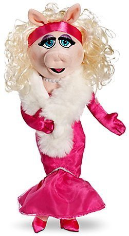 Disney Interactive Studios The Muppets Exclusive 19 Inch DELUXE Plush Figure Miss Piggy