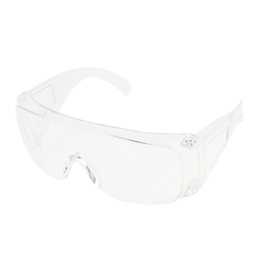 Homyl PPE Safety Protective Goggles Glasses Unisex Chemical Resistant Full Clear