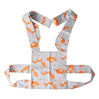 YeahiBaby Baby Doll Carrier Sling for Kids Children Toddler Front Back Grey Fox