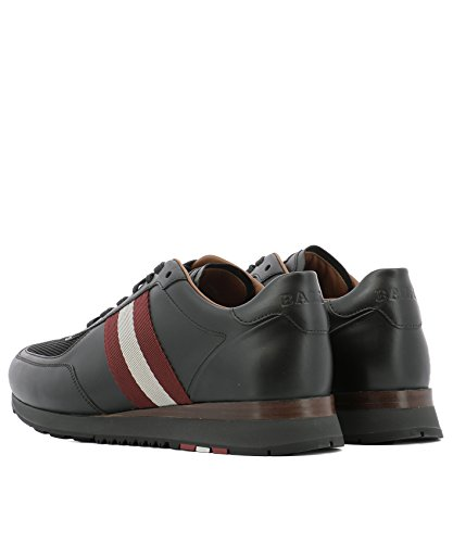 Bally Men's 6212870ASTON00 Black Leather Sneakers 2014 new online pay with visa sale online buy cheap best wholesale hWG47GMup0