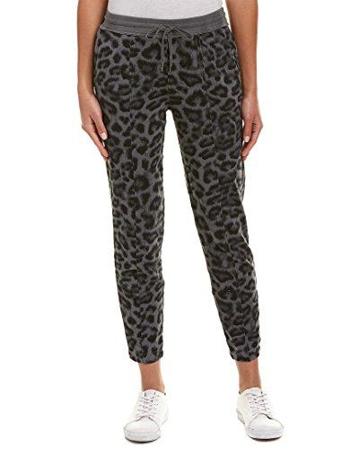 Splendid Women's Printed Leopard Sweapant, Lead, XS - Splendid Leopard