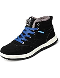 Snow Boots Waterproof Fashion Lightweight Winter Shoes...
