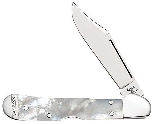 Case Mother-of-Pearl Mini Copperlock Pocket Knife