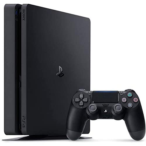 NexiGo 2020 Playstation 4 PS4 Slim 1TB Console Holiday Bundle, Light & Slim PS4 System, 1TB Hard Drive Charging Station Dock Bundle