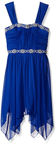 embellished bodice dress - 4
