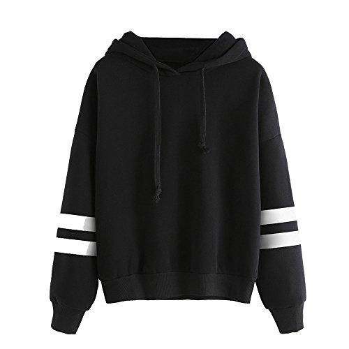 aribelly-women-blouse-hoodie-sweatshirt-jumper-hooded-long-sleeve-pullover-tops-m-black