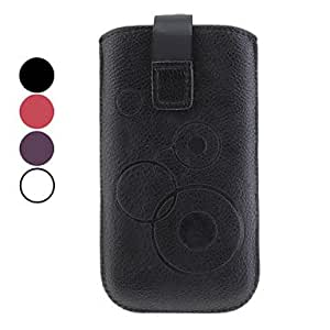 JJE PU Leather Vertical Pouches for Samsung Galaxy S3 I9300 and Galaxy Nexus I9250 (Assorted Colors) , White