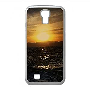 Sunset Watercolor style Cover Samsung Galaxy S4 I9500 Case (Sun & Sky Watercolor style Cover Samsung Galaxy S4 I9500 Case)
