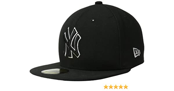 fb8cc232551 Amazon.com   MLB New York Yankees League Basic Wool Cap