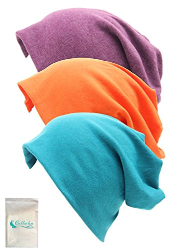 Gellwhu Unisex Cotton Beanies Hairloss product image