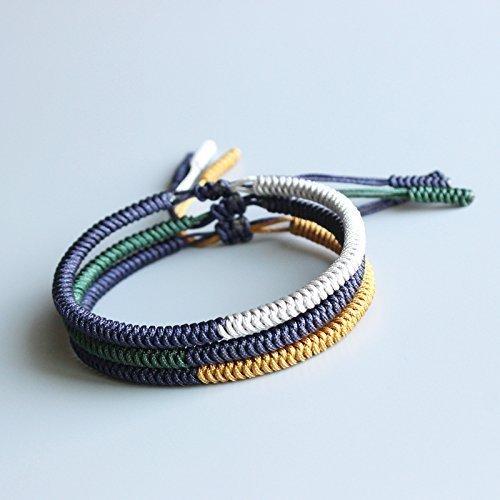 Amazon Tale Lucky Rope Bracelet Tibetan Buddhist Handmade Knots