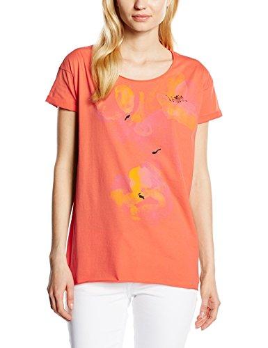 Boss Orange Tiflower, Camiseta para Mujer Naranja (Medium Naranja 816)
