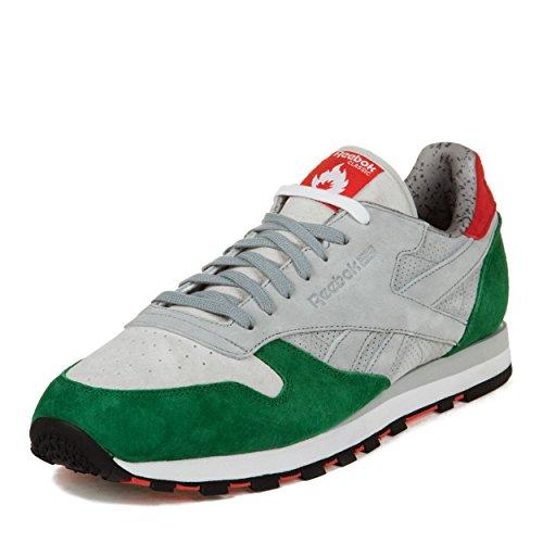 Reebok Heren Cl Lthr R12 Hanon Shop Suede Atletische Sneakers