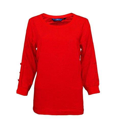 Rojo 36 Tom Mujer Tailor Para Camisas 7w7CXIqU