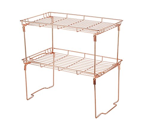 Kitchen Cabinet and Counter Shelf Add-on Organizer Tray 15