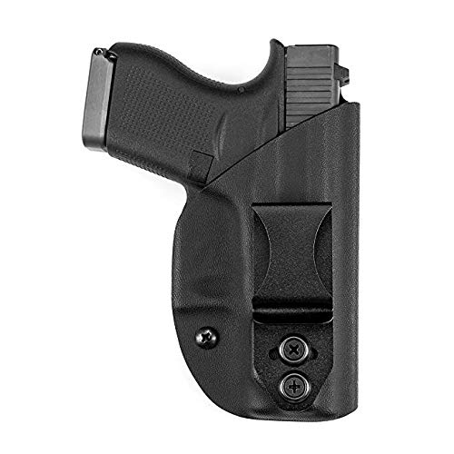 Vedder Holsters LightTuck IWB Kydex Gun Holster - Glock 36 with Rail (Right Hand Draw) ()