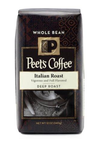 Peet's Whole Bean Coffee, Italian Roast, 12-Ounce (Italian Roast Dark compare prices)