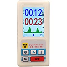 WAYSEAR professional geiger counter nuclear radiation detector personal dosimeters marble detector nuclear radiation meter Beta Gamma X ray data marble tester ore gamma rays uranium monitor