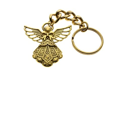 guardian-angel-keychain-gold-and-silver-set-of-2