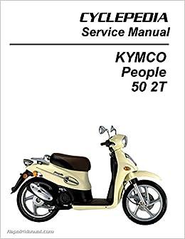 kymco people 50 motorcycle service repair manual download