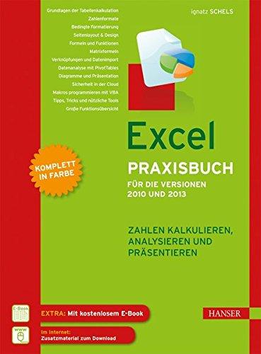 Excel Praxisbuch für die Versionen 2010 und 2013: Zahlen kalkulieren, analysieren und präsentieren
