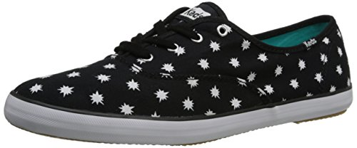 Keds Womens Champion Starburst Oxford Black