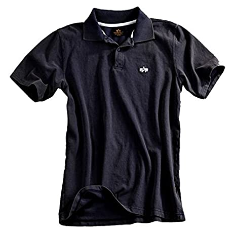 Alpha Ind. Polo Classic Polo - Black s - XL multicolor M: Amazon ...