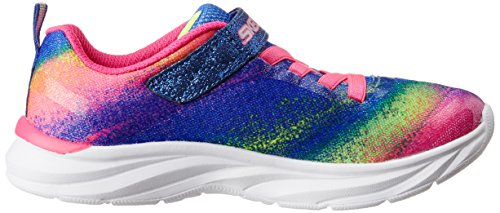 Bling Mädchen Pink Pink Brite Skechers Neon Multi Low Pepsters Top E1AqxAOHw