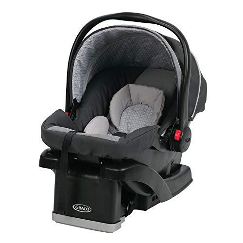 Graco DuoGlider Click Double Stroller + SnugRide Car Seats Travel System-Glacier