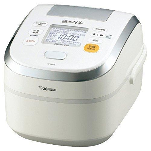 ZOJIRUSHI pressure IH rice cooker NP-WA18-WP (Japan Import)