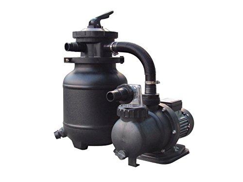 FlowXtreme NE4486 Durable Basic Pool Filter System, Black by FlowXtreme