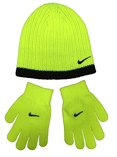 001f9ad15f5 Nike Boy`s Knit Beanie   Gloves Set