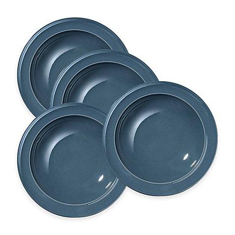 Emile Henry Soup/Pasta Bowls in Blue Flame (Set of 4)