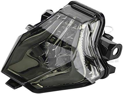 bianco KIMISS Motorcycle LED Indicatore di direzione fanale posteriore per MT-07 FZ-07 YZF-R3 YZF-R25 320 g